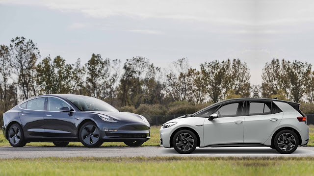 Grupo VW investe € 73 bilhões para desafiar a Tesla
