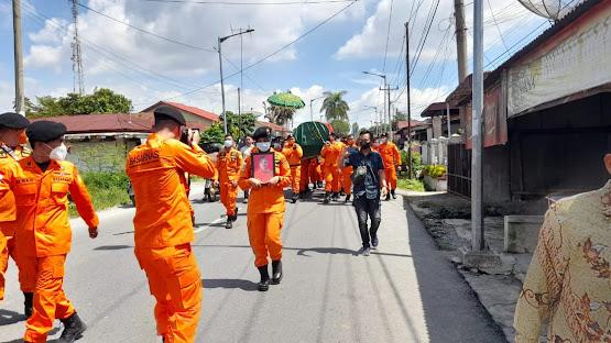 Anggota Basarnas Asal Siantar yang Meninggal di Madina Dikebumikan