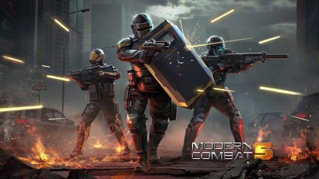 modern combat 4 تحميل