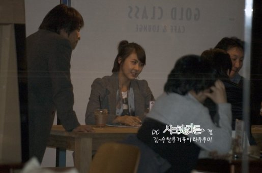 ha ji won at cafe after late autumn premier