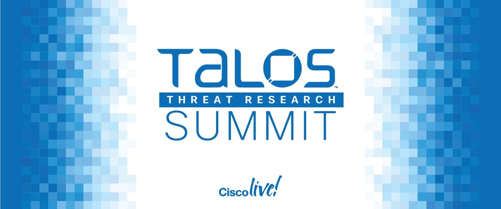 Talos Blog    Cisco Talos Intelligence Group - Comprehensive