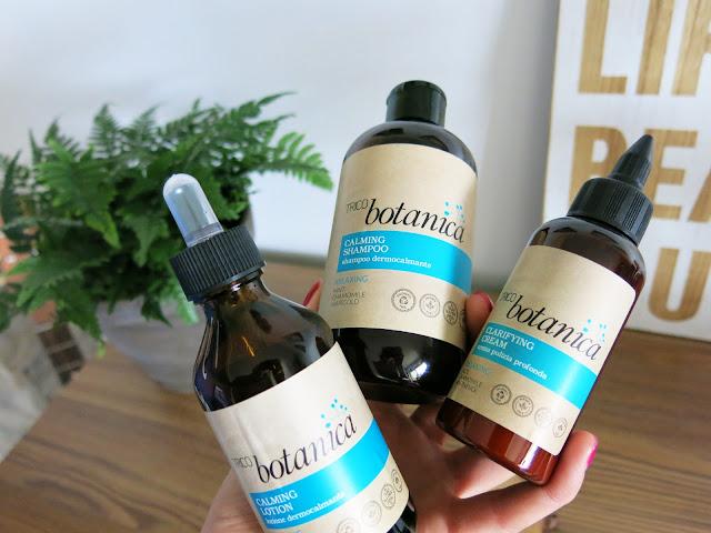 TRICO Botanica   oczyszczający i relaksujący zestaw do pielęgnacji włosów oraz skóry głowy.