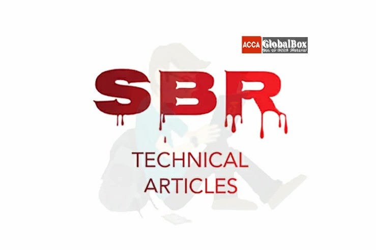 ACCA | SBR | Important Technical Articles
