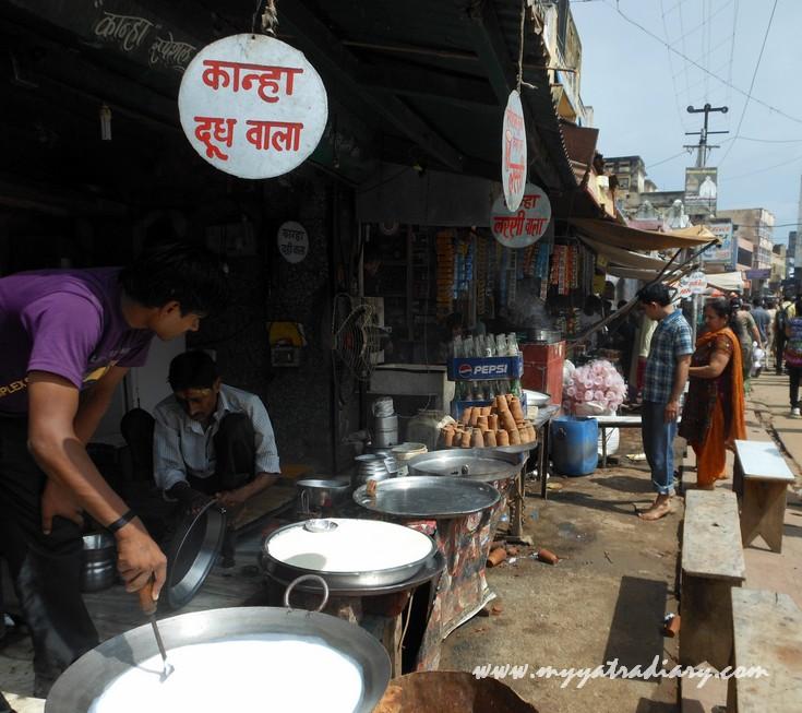 Vrindavan Street Food - Lassi, Mava, Malai Kurchan, etc.