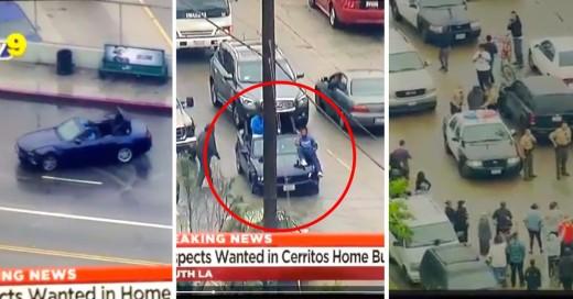 VIDEO: Persecución policiaca al más puro estilo GTA V