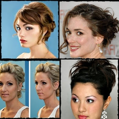 Cute Easy updos with lots of volume