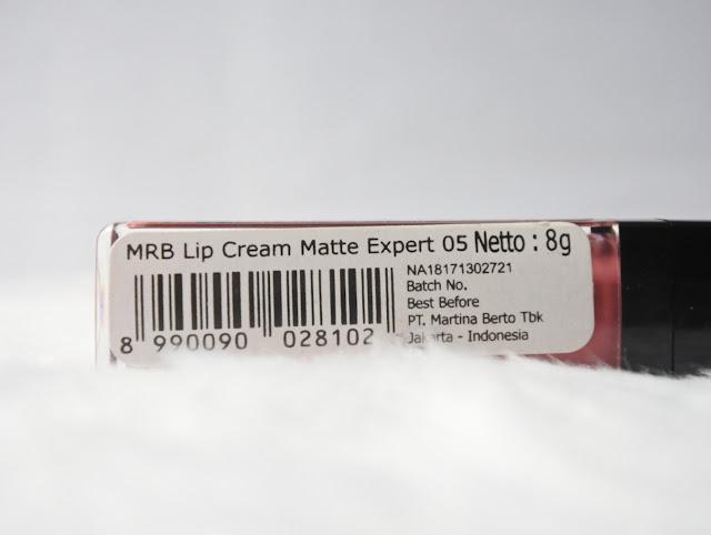 Mirabella Lip Cream Matte - Guava