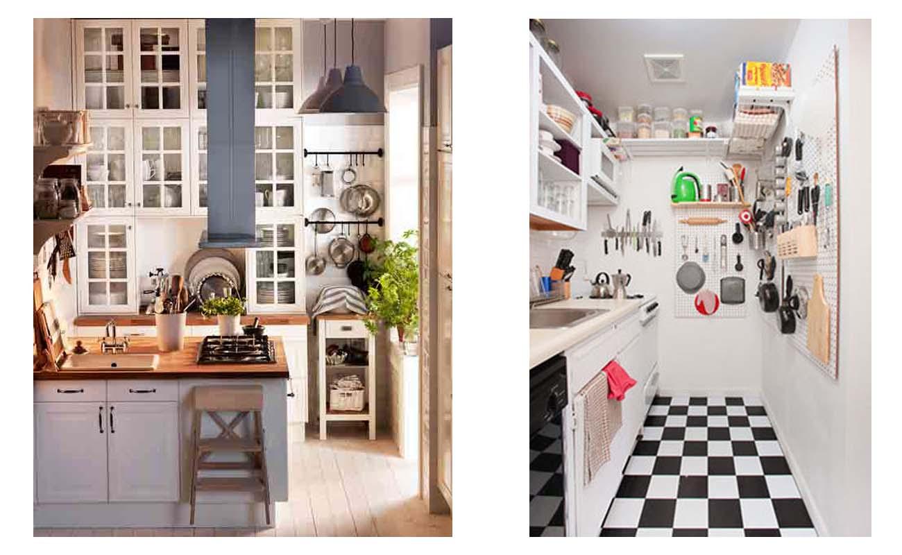 Fotos de cocinas peque as ideas para decorar dise ar y - Ideas para decorar cocinas pequenas ...