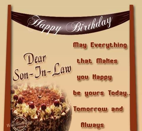 170+ Happy Birthday Wishes for Son in Law (2019) Quotes