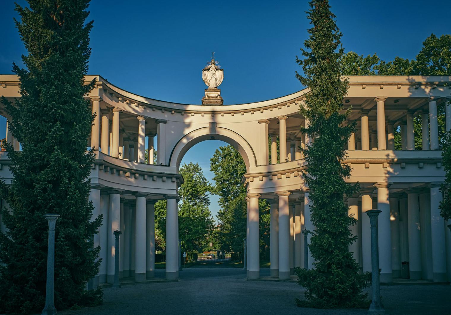 Plečnik's Žale - Garden of All Saints