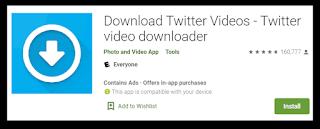 Cara Download Video di Twitter menggunakan twitter videos