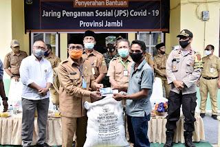 FACHRORI SALURKAN JPS COVID-19 TAHAP II UNTUK MASYARAKAT BATANG HARI