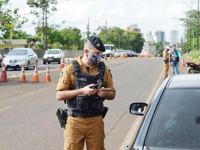Polícia Militar faz ação para reduzir mortes violentas e combater o tráfico de drogas em Foz e região