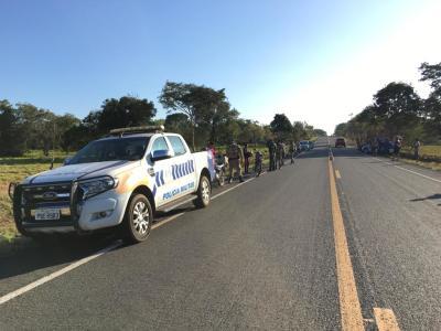 """PM divulga resultado da Operação """"Terra Prometida"""" realizada na zona rural do Bico do Papagaio"""