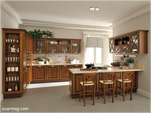 مطابخ خشب 2020 7   Wood Kitchens 2020 7
