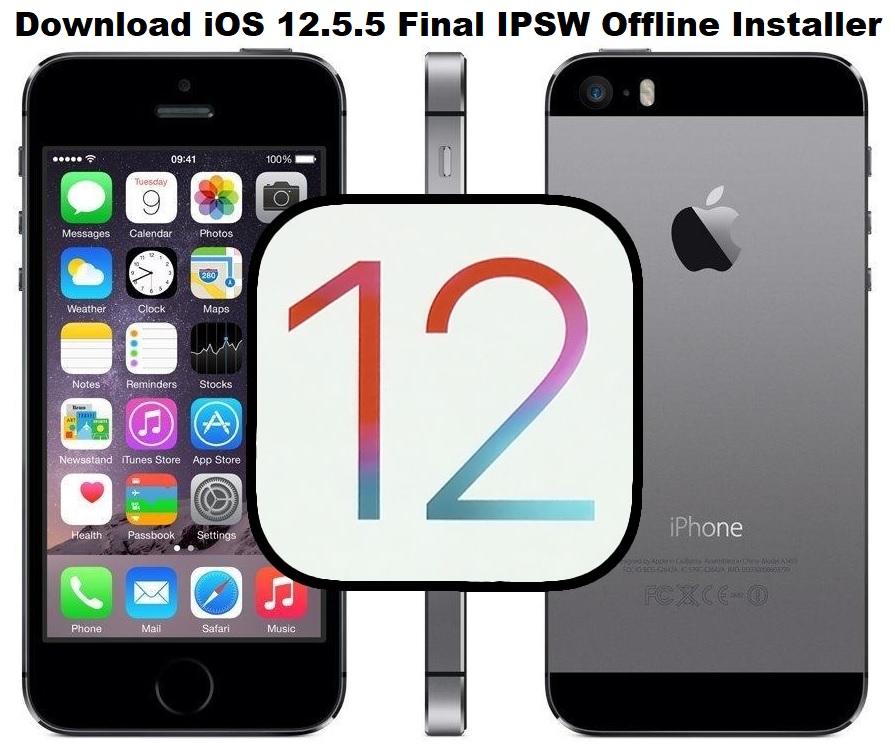 Download iOS 12.5.5 IPSW