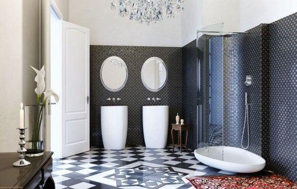 Tile Design For Bathroom Floor