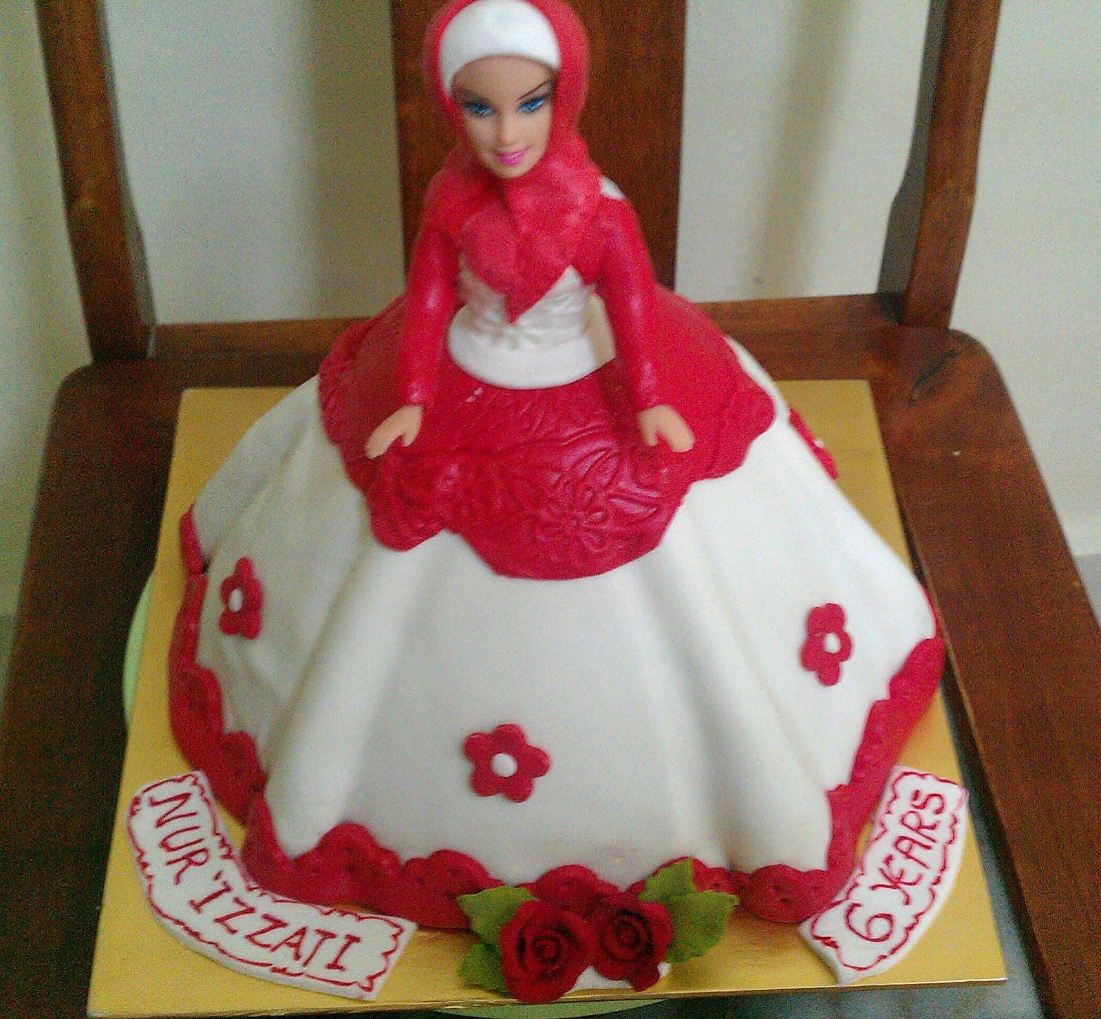 Zairie Homemade Delights 3d Muslimah Doll Cake