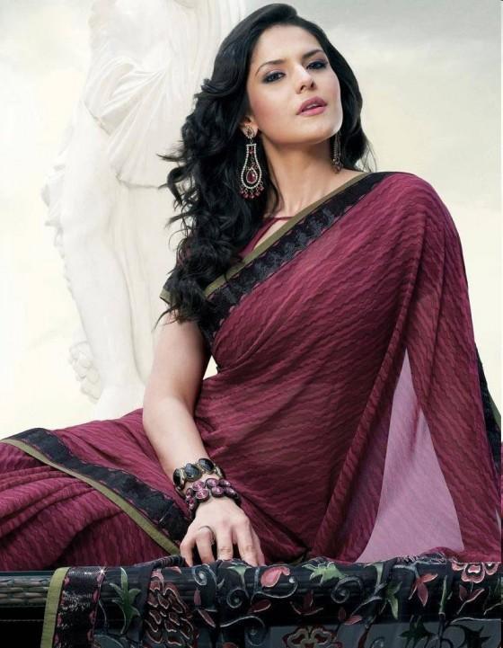 Forummail Zarine Khan In Hot Saree