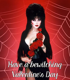 Bewitched by Elvira with red roses