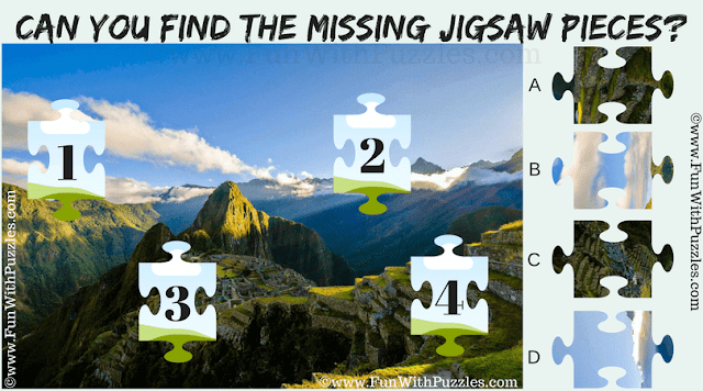 It is Jigsaw Picture Puzzle in which you have to match 4 Jigsaw Pieces taken from the given puzzle image.
