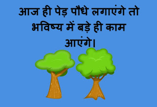 10 Lines importance of trees in Hindi