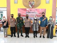 Polres Ponorogo besama TNI Kodim 0802, gelar Serbuan Vaksinasi  Nasional