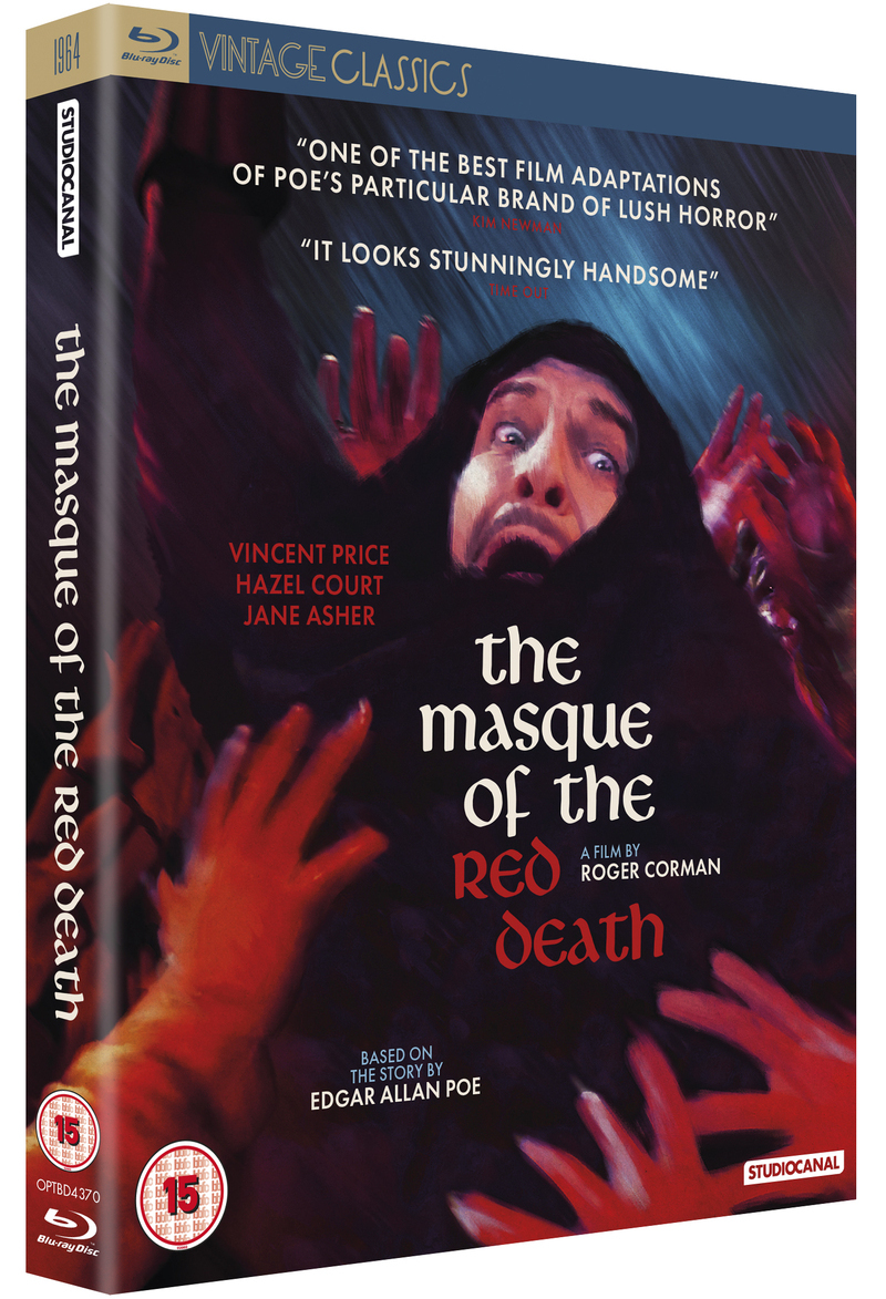the masque of the red death bluray