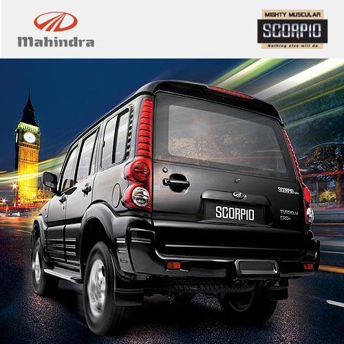 Mahindra Scorpio rear