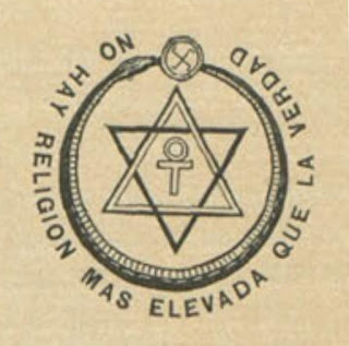 Emblema teosófico (Sophia, Madrid, 1/1913)
