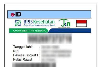 Cara Mencetak Kartu BPJS Kesehatan (e-ID) Lewat Online Sendiri