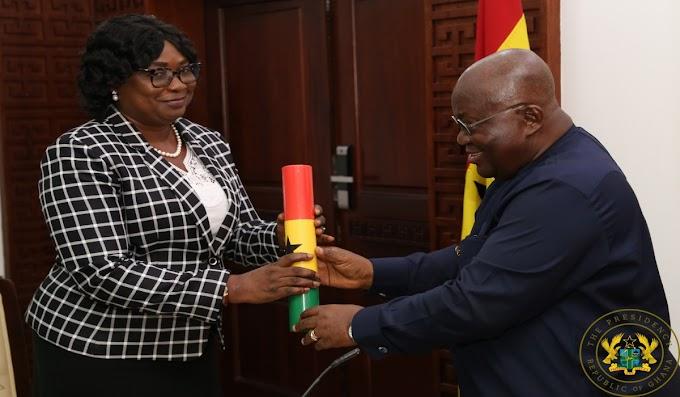 President Akufo-Addo Swears-In Deputy Special Prosecutor