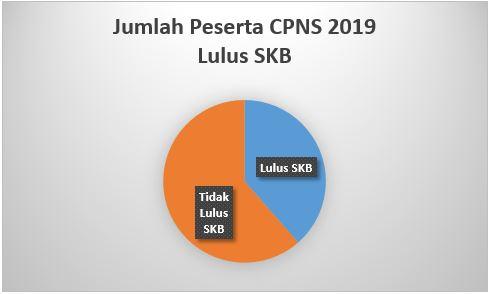 Jumlah Peserta CPNS 2019 Lulus SKB