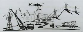 تصميم خطوط نقل الكهرباء وكيفية إنشائها بالتفصيل