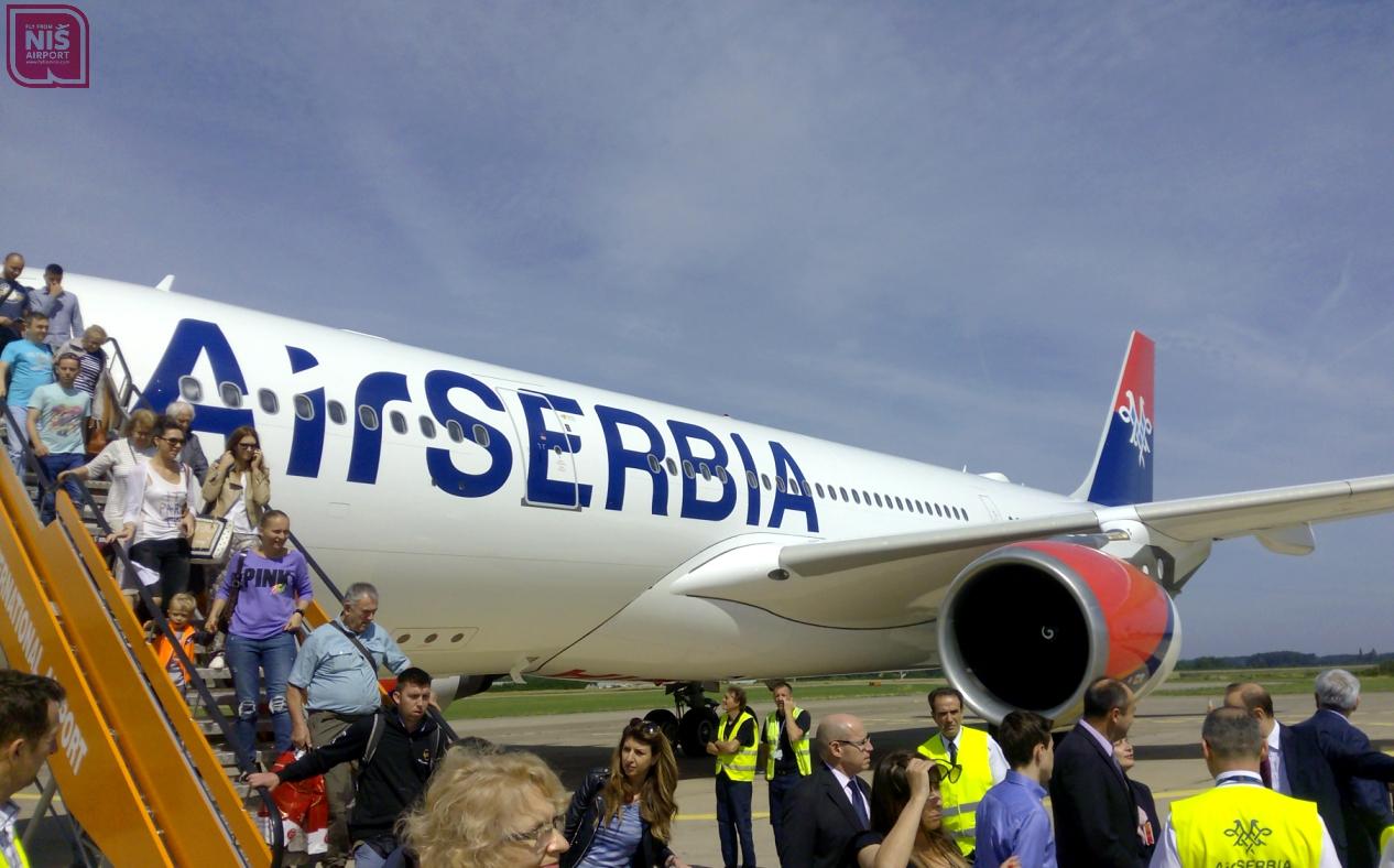 FLY FROM NIŠ: Fly from Niš na letovima prekookeanskim avionom Air Serbia-e do...