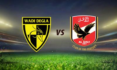 مشاهدة مباراة الاهلي ووادي دجلة 4-9-2020 بث مباشر في الدوري المصري