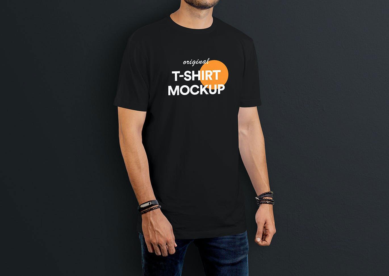 T Shirt Mockup Vol 08..