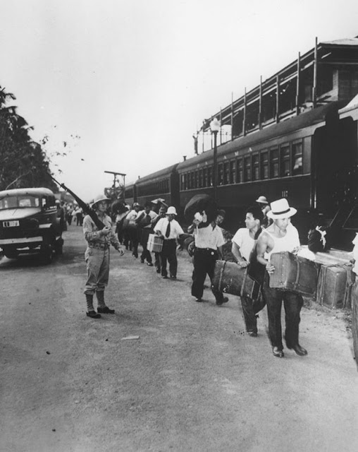 Japanese-Peruvians in the Panama Canal Zone 2 April 1942 worldwartwo.filminspector.com