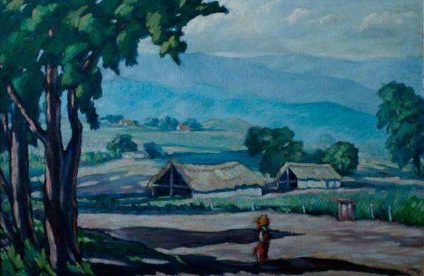 Paisaje sin titulo, 1949