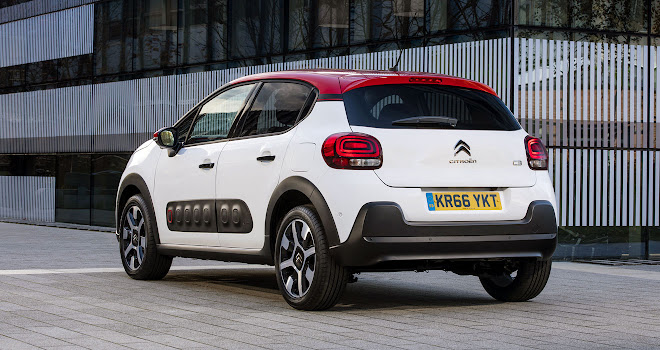 Citroen C3 rear side view