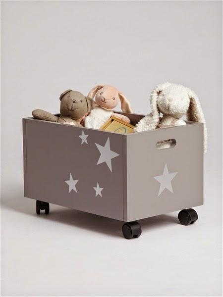 habitación infantil con estrellas