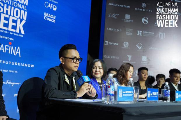 NTK Công Trí đảm nhiệm vai trò mở màn cho Aquafina Tuần lễ Thời trang Quốc tế Việt Nam 2020