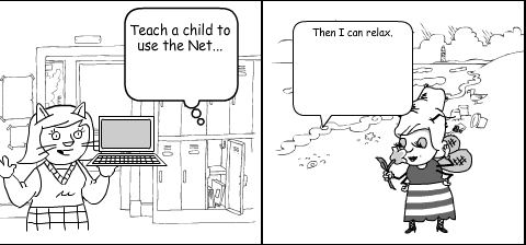 Math... Lets make it count: Comic about Technology