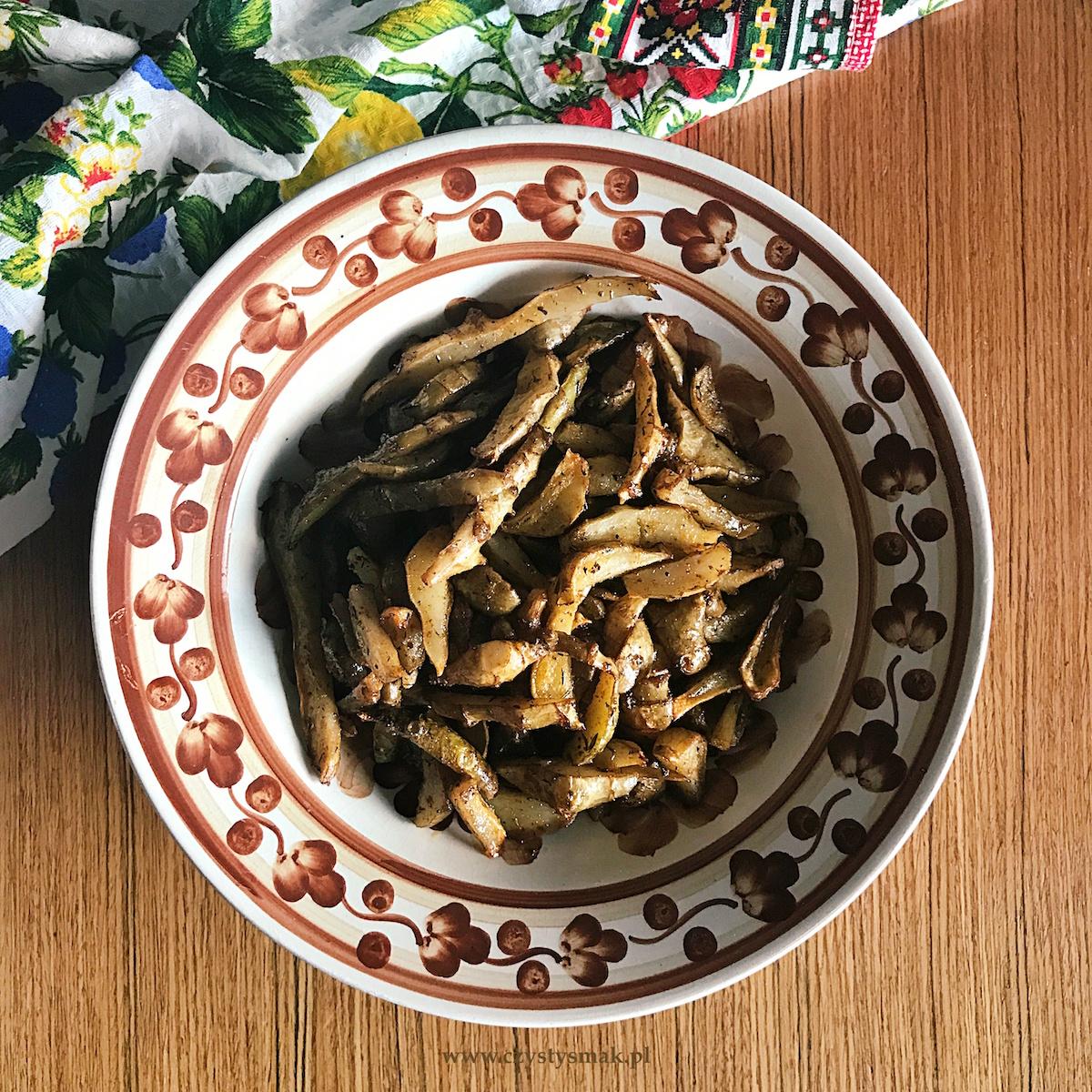 Frytki z topinamburu