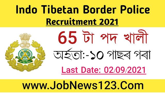 ITBP Recruitment 2021: