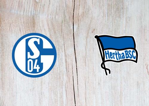 Schalke 04 vs Hertha BSC -Highlights 31 August 2019
