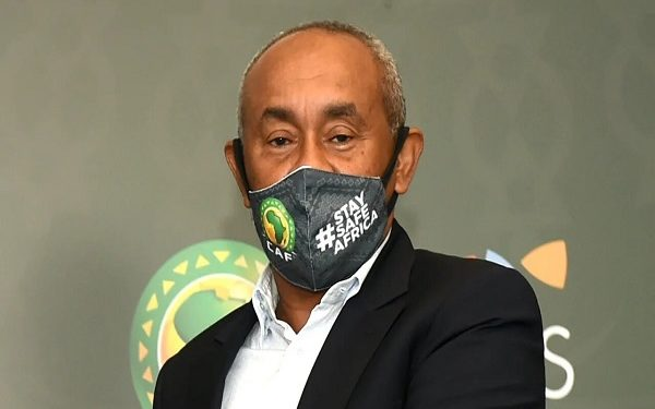 CAF President Ahmad tests positive for COVID-19