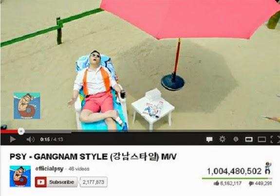 clip được xem nhiều nhất trên youtube
