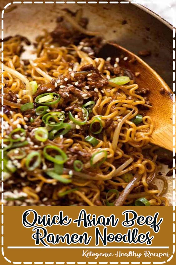 these Asian Beef Ramen Noodles are totally slurp Quick Asian Beef Ramen Noodles