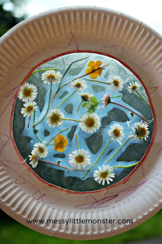 flower suncatcher craft